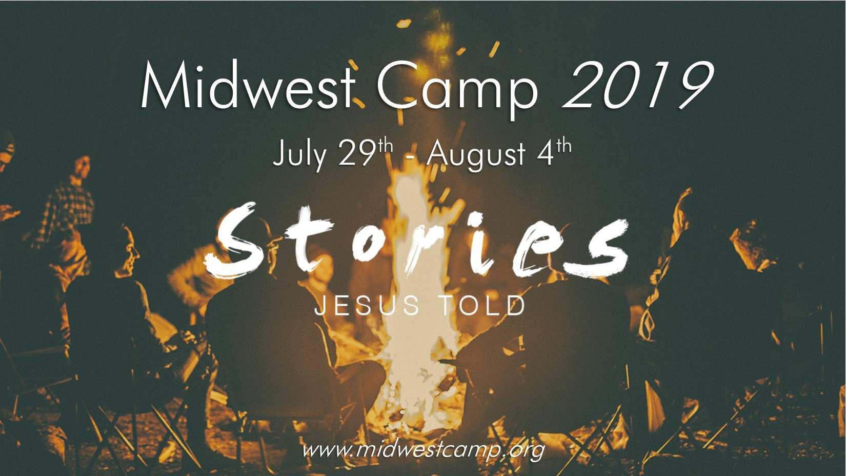 Church camp poster 2019